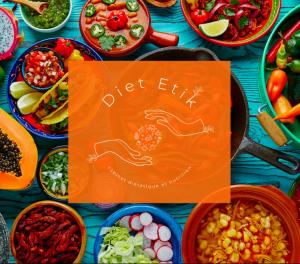 Diet Etik site diététicienne nutritionniste logo image